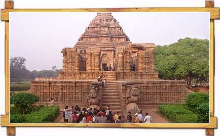 Konark Temple also known as the Black Pagoda, is a 13th-century Sun Temple situated at Konark, in Orissa.
